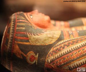 Mumie des Pharao puzzle