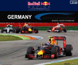 M.Verstappen, GP von Deutschland 2016 puzzle