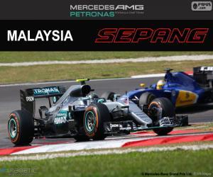 N. Rosberg, GP von Malaysia 2016 puzzle