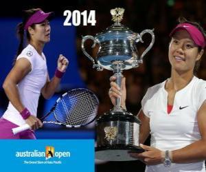 Na Li Meister Open Australien-2014 puzzle