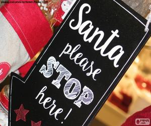 Nachricht für den Weihnachtsmann puzzle
