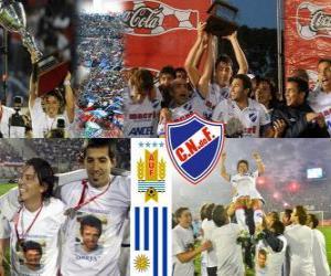 Nacional de Montevideo, Meister des uruguayischen Fußball 2010-2011 puzzle