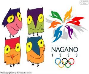 Nagano 1998 Olympischen Winterspiele puzzle