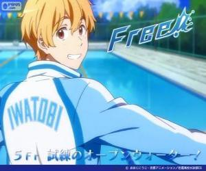 Nagisa mit dem Sportanzug Iwatobi Swimming Club puzzle