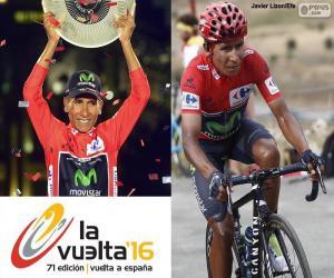 Nairo Quintana, Vuelta a España 2016 puzzle