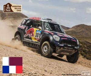 Nasser Al - Attiyah, Dakar 2015 puzzle