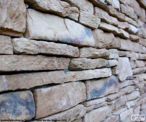 Natursteinmauer puzzle