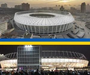 Nazionalnyj sportywnyj komplex (69.055), Kiew - Ukraine puzzle