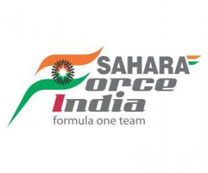 Neues Logo Force India 2012 puzzle