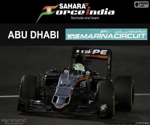 Nico Hülkenberg, GP von Abu Dhabi 2016 puzzle