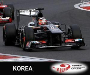 Nico Hülkenberg - Sauber - Korea International Circuit, 2013 puzzle