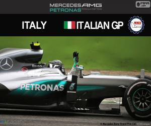 Nico Rosberg, G.P Italien 2016 puzzle