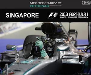 Nico Rosberg, Großer Preis Singapur 2016 puzzle