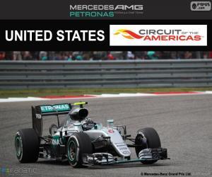 Nico Rosberg, Großer Preis der USA 2016 puzzle