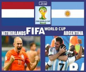 Niederlande - Argentinien, Halbfinale, Brasilien 2014 puzzle