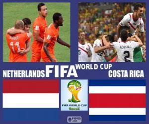 Niederlande - Costa Rica, Viertelfinale Brasilien 2014 puzzle