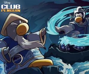 Ninja-Pinguine, Zeichen der berühmten Club Penguin puzzle