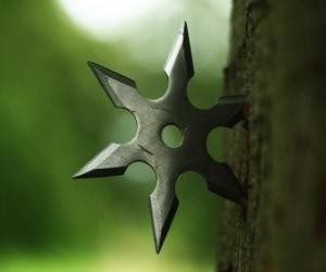 Ninja Stern - Shuriken- puzzle