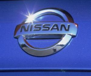 Nissan-Logo, japanische Automarke puzzle