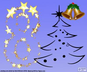 Nummer 8 für Weihnachten puzzle
