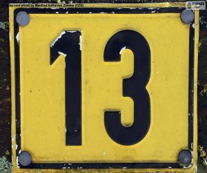 Nummer dreizehn puzzle