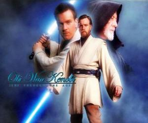 Obi-Wan Kenobi, ein Jedi-Meister puzzle
