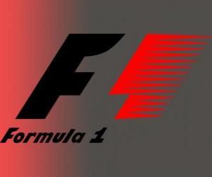 Offizielles Logo der Formel 1 puzzle