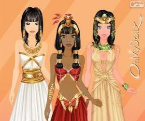 Oh My Dollz egiziana ägyptisch puzzle