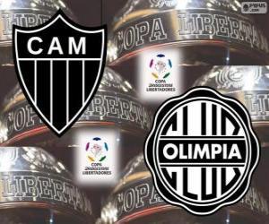 Olimpia Asunción Vs Atlético Mineiro. Copa Libertadores Finale 2013 puzzle