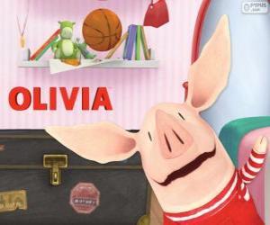 Olivia die kleine Schwein puzzle