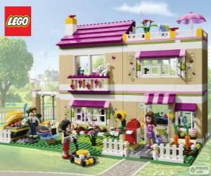 Olivias Haus, Lego Friends puzzle