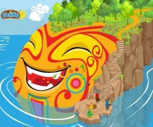 Oloka. Erstellen Sie Ihre eigenen Welt, in der Online-Strategie-Spiel für kluge Kinder puzzle