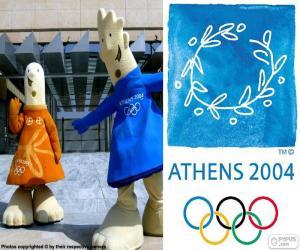 Olympische Spiele Athen 2004 puzzle