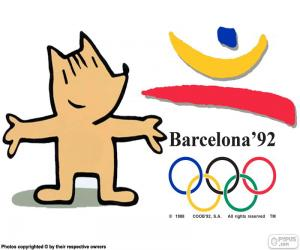 Olympische Spiele Barcelona 1992 puzzle