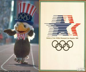 Olympische Spiele Los Angeles 1984 puzzle