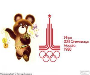 Olympische Spiele Moskau 1980 puzzle