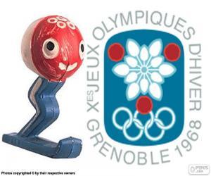 Olympische Winterspiele 1968 puzzle