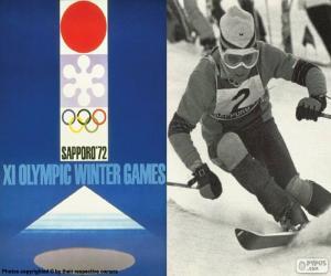 Olympische Winterspiele 1972 puzzle