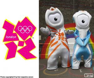 Olympischen Spiele 2012 in London puzzle
