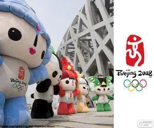 Olympischen Spiele Peking 2008 puzzle