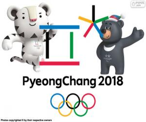 Olympischen Spiele Pyeongchang 2018 puzzle
