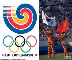 Olympischen Spiele von Seoul 1988 puzzle