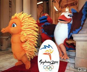 Olympischen Spielen in Sydney 2000 puzzle