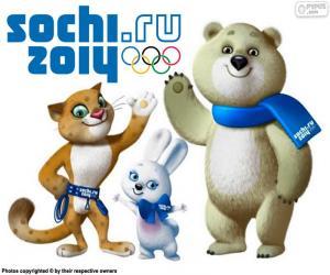 Olympischen Winterspiele Sotschi 2014 puzzle