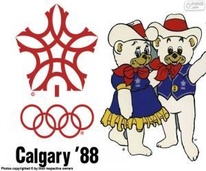 Olympischen Winterspielen 1988 in Calgary puzzle