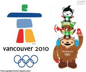 Olympischen Winterspielen Vancouver 2010 puzzle