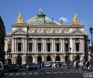 Opéra Garnier, Fassade puzzle