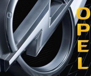 Opel-Logo, deutsche Automarke puzzle