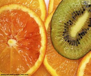 Orange und Kiwi puzzle