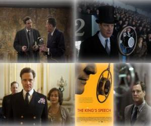 Oscar 2011 - Bester Film: The King's Speech (1) puzzle